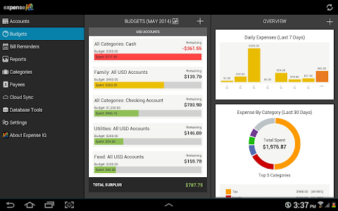 Expense IQ - Expense Manager v1.0.8 build 49