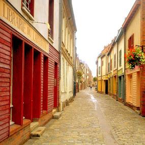 France Petit  by Christopher Charlton - City,  Street & Park  Street Scenes ( streets, france, travel )
