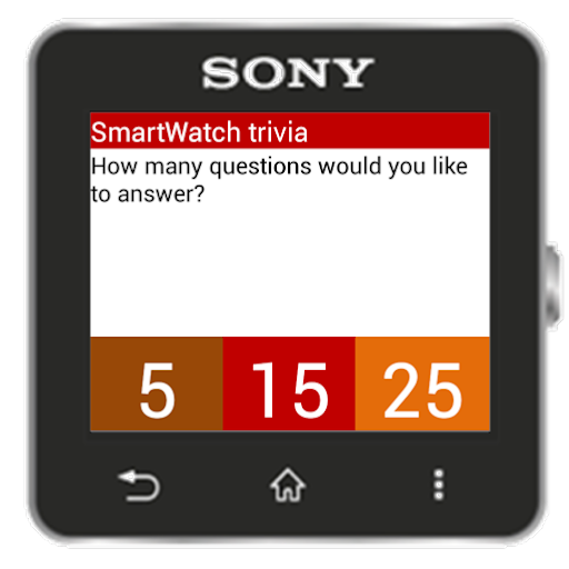 Trivia for SmartWatch