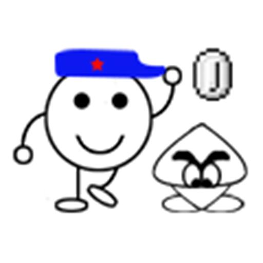 涂鸦玛丽奥 動作 App LOGO-硬是要APP