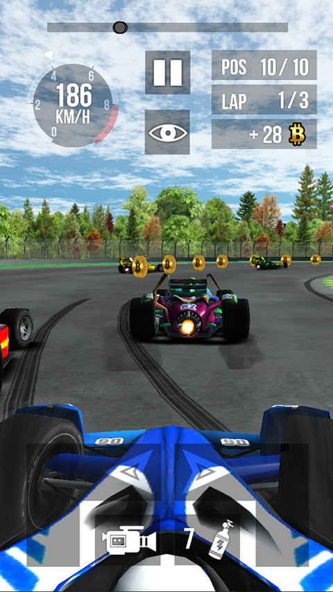 Thumb Formula Racing- screenshot