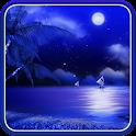 Night Beach Live Wallpaper icon