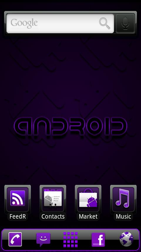 ADWTheme Incredible Purple - screenshot