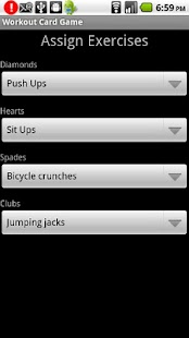 Workout Card Game- screenshot thumbnail
