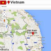 Vietnam Mapa