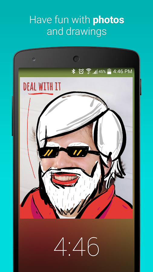 LokLok: Draw on a Lock Screen- screenshot