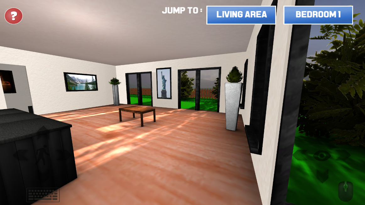 Virtual reality home sample android apps on google play for Virtual flooring app
