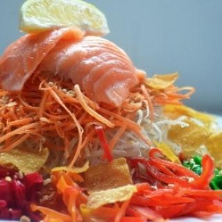 Raw Fish Salad (Ho Wan Yue Sang)