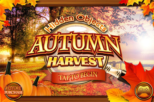 Hidden Objects Autumn Harvest
