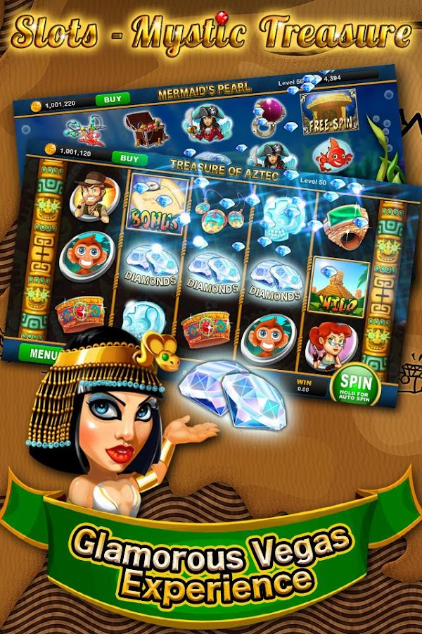 Slots - Mystic Treasure™- screenshot