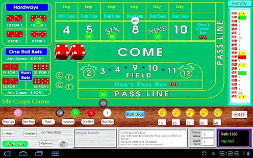 Ultimate craps trainer