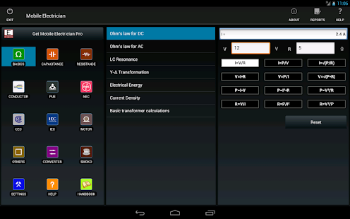 Mobile electrician- screenshot thumbnail