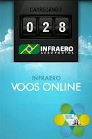 Screenshot of Infraero Voos Online