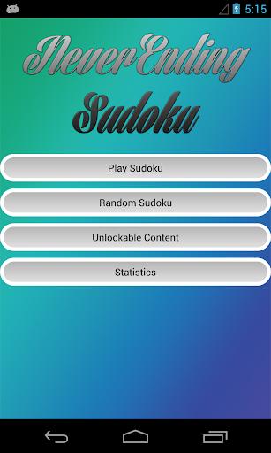 NeverEnding Sudoku