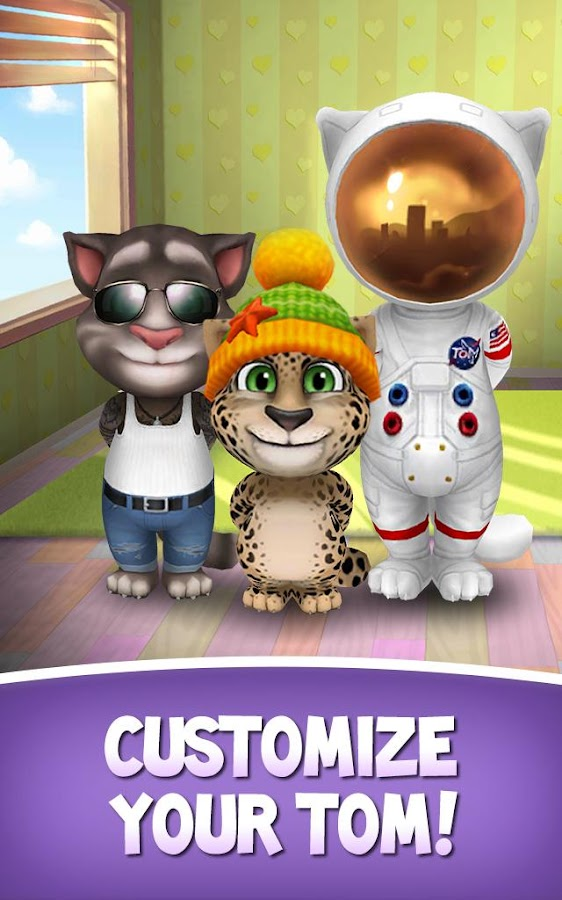 My Talking Tom v2.5.2 Mod [Unlimited Coins]