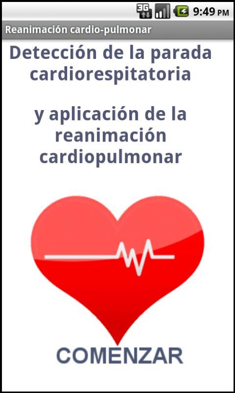 Reanimación Cardiorespiratoria - screenshot