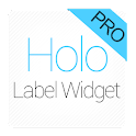 Holo Label Widget Pro icon