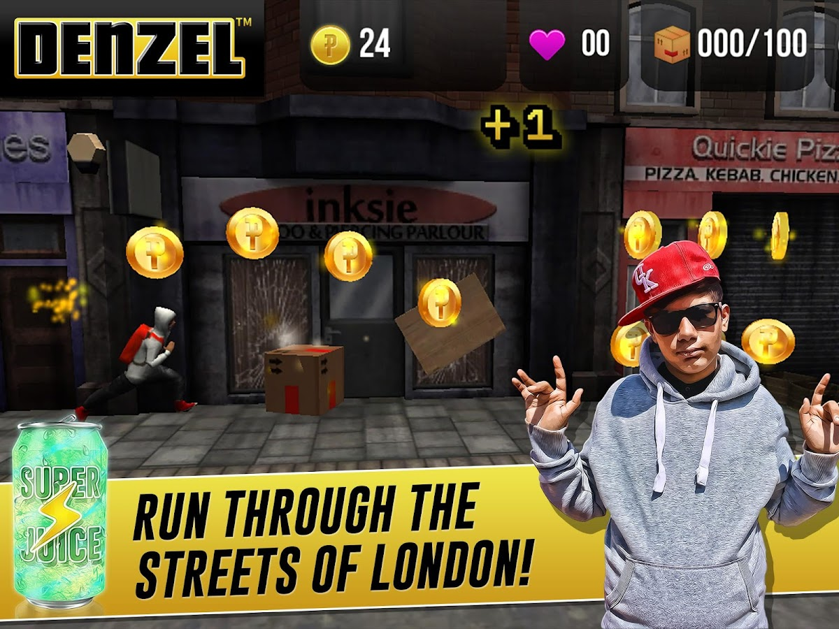 Denzel - Running Game- screenshot