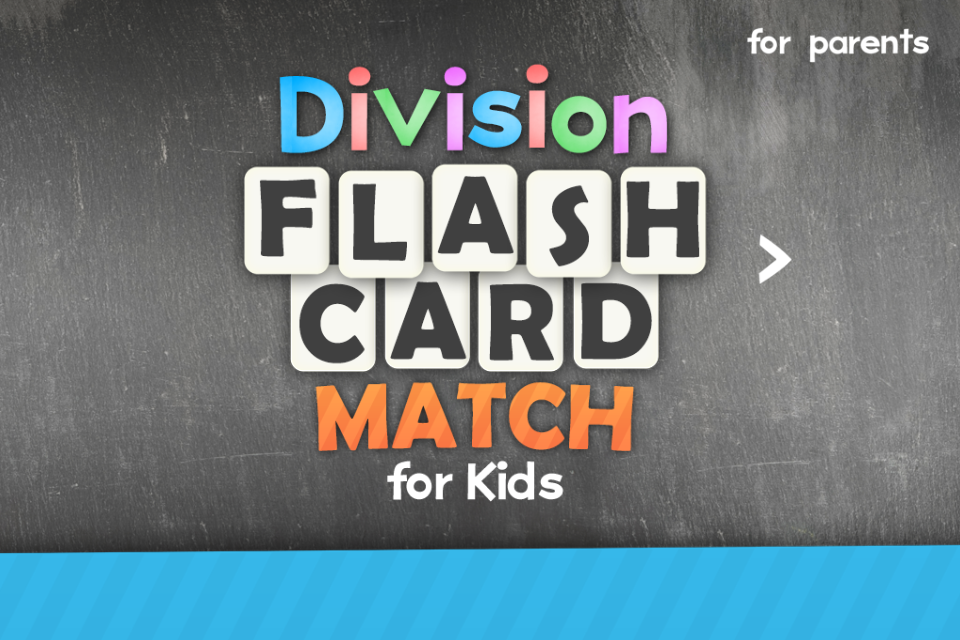 Division Flashcard Match Games for Kids Math Free- screenshot