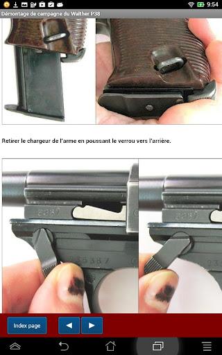 Pistolet Walther P38 expliqué