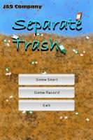 Screenshot of 쓰레기 분리 수거(Separate Trash)~!!