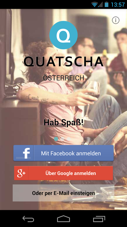 Quatscha.at Chat - screenshot