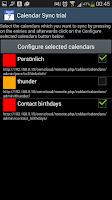 Screenshot of CalendarSync - CalDAV and more