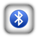 Bluetooth ON/OFF status bar logo