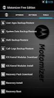 Screenshot of Motomizer Free Edition