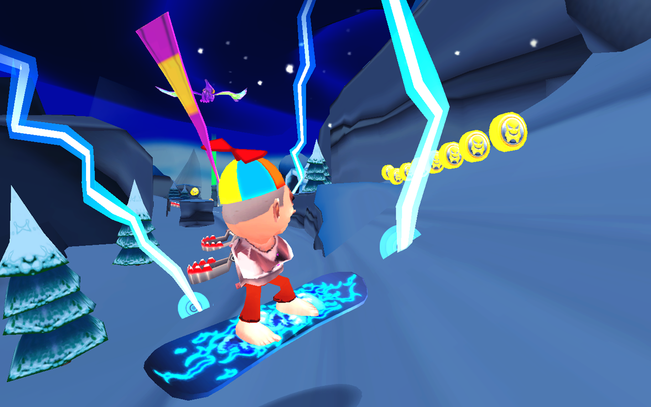 Skiing Fred - screenshot