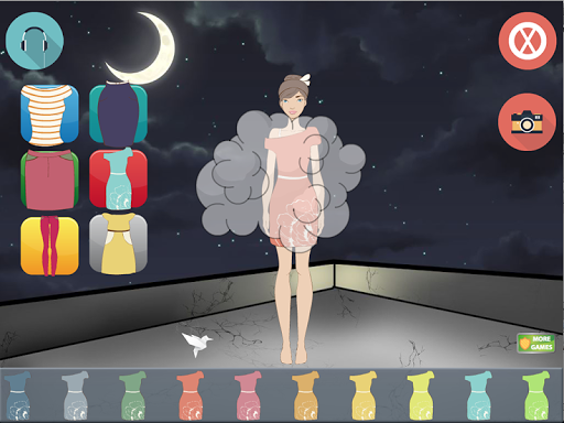 ドレスアップ夜の星