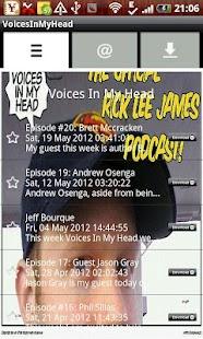 VoicesInMyHead- screenshot thumbnail