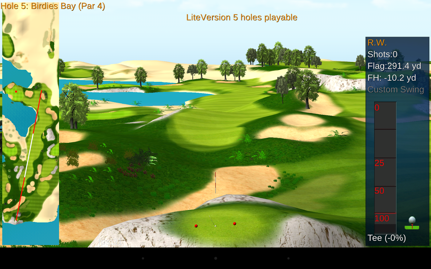 golf game for three players games