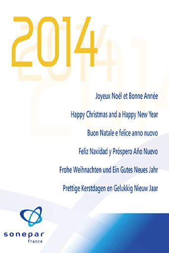Voeux 2014 Sonepar
