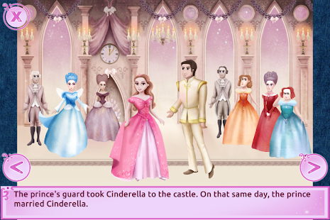 Cinderella Story Free - Girls Games- screenshot thumbnail