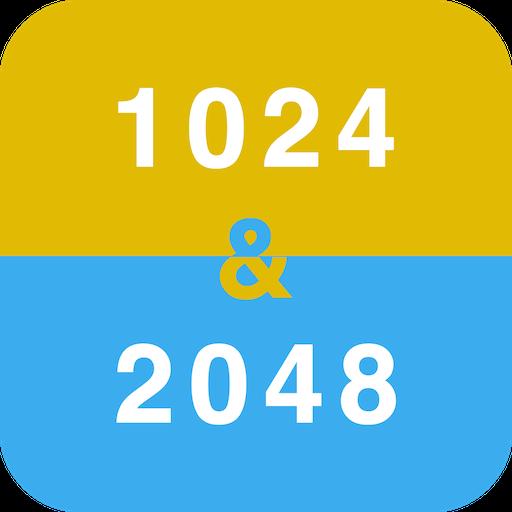 益智App|1024 & 2048 - 数字和智力游戏 LOGO-3C達人阿輝的APP