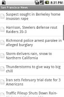 Screenshot of San Fancisco News