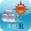 天気・R logo
