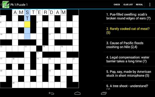 Crossword Cryptic Lite - screenshot thumbnail