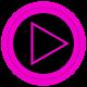 Poweramp skin TRON PINK v2.03