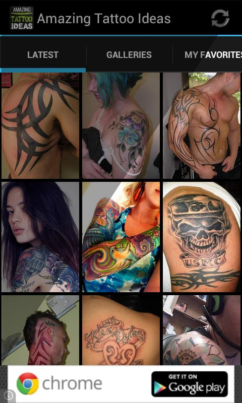 Amazing Tattoo Ideas- screenshot