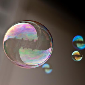 Bubble Bomb...! hehehe...I'm done now by Bethany McGregor - Abstract Water Drops & Splashes