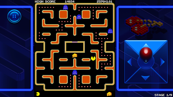 PAC-MAN +Tournaments - screenshot thumbnail