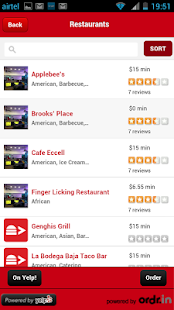 FoodieToGo -Ordering made easy - screenshot thumbnail