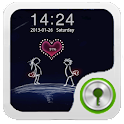 Forever Love Go Locker Theme icon