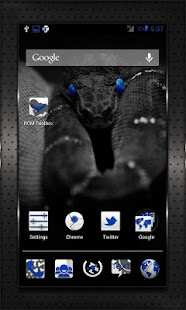 DARK BLUE HEAVY CM10 AOKP CM7+- screenshot thumbnail