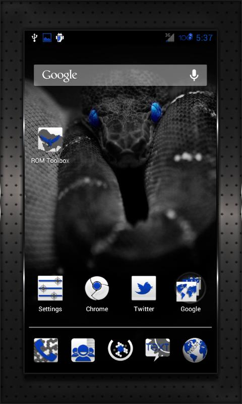 DARK BLUE HEAVY CM10 AOKP CM7+ - screenshot