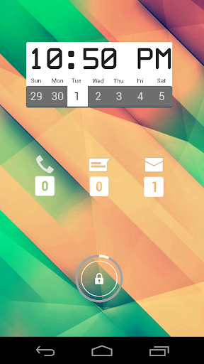 Box Clock Calendar for Zooper