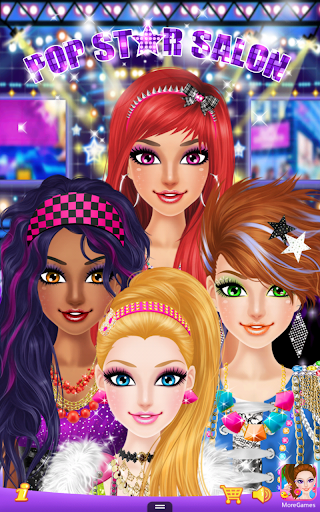 Pop Star Salon 1.0 screenshots 1