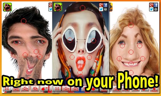 Warp My Face: Fun Photo Editor - screenshot thumbnail